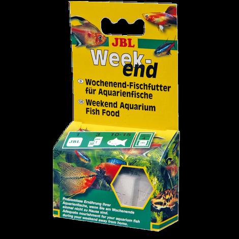 JBL Weekend Wochenend-Alleinfutter für alle Aquarienfische 20 g