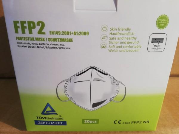 1 Stück - FFP2 Atemschutzmaske