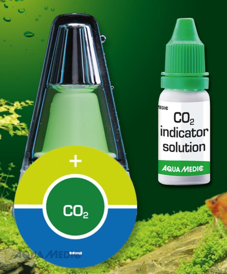 CO2 indicator - Indikator zur Anzeige des Kohlendioxidgehaltes in Süßwasseraquarien