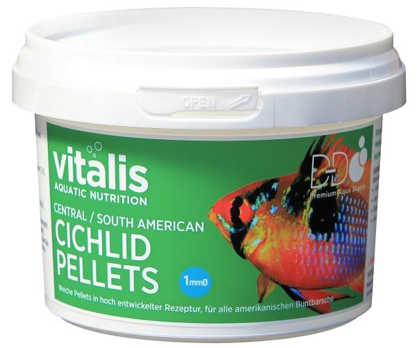 vitalis Central/Sth American Cichlid Pellets Ø1mm - 140g