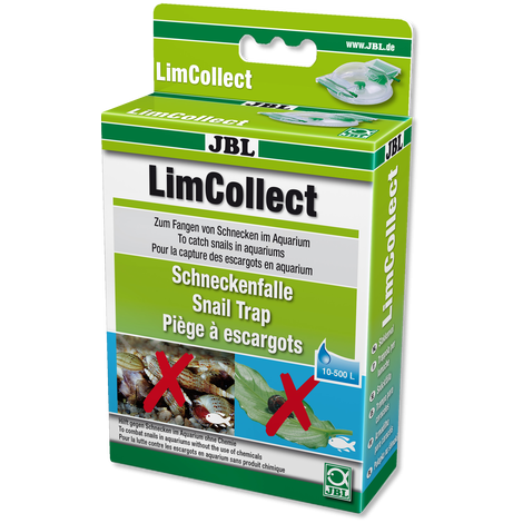 JBL LimCollect Chemiefreie Schneckenfalle für Aquarien