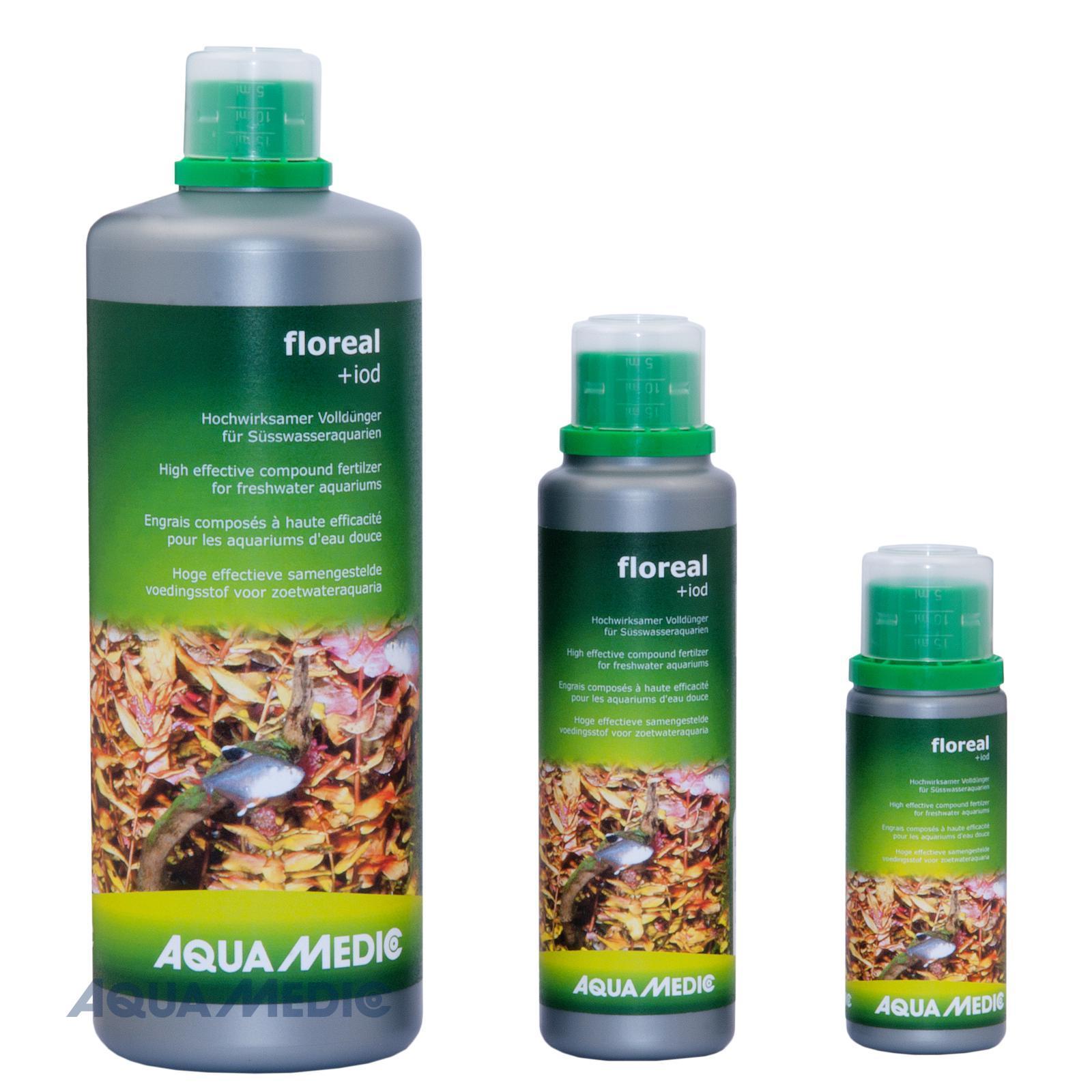 floreal + iod 250 ml - Hochwirksamer Volldünger für Süßwasseraquarien