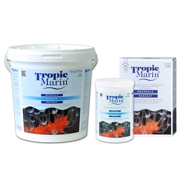 Tropic Marin Meersalz CLASSIC 10 kg für 300 l - Eimer