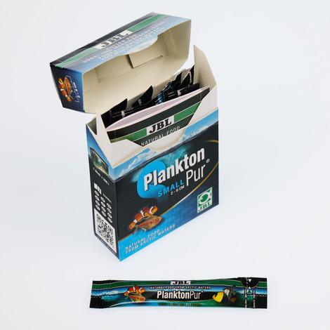 PlanktonPur S 2g / 8 Stück - Leckerbissen für kleine Aquarienfische