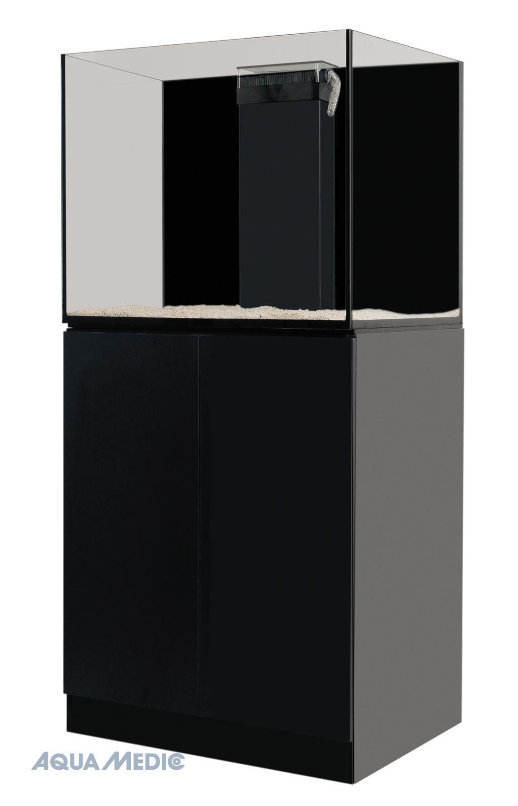 Xenia 65 graphite-black - Rahmenloses Meerwasseraquarium mit Unterschrankfiltersystem