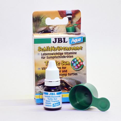 JBL Schildkrötensonne Aqua 10 ml - Vitamine für Wasser- und Sumpfschildkröten