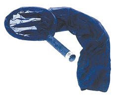 Umsetzschlauch schwarz - Schlauchlänge 90cm