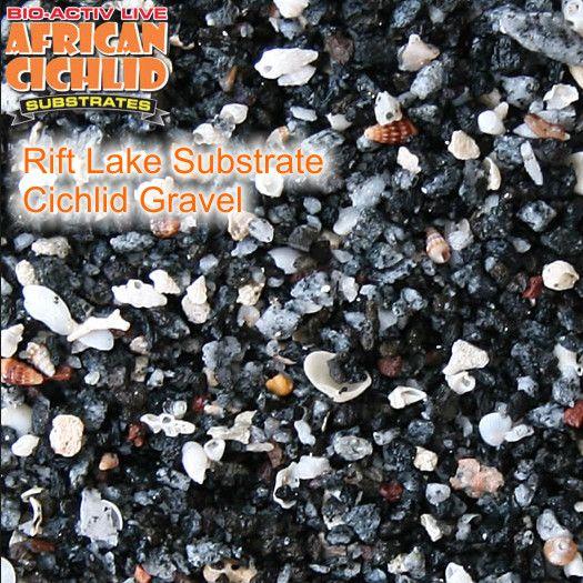 Rift Lake Substrate Cichlid Gravel 9,07 kg, Körnung 6,0 - 8,0 mm