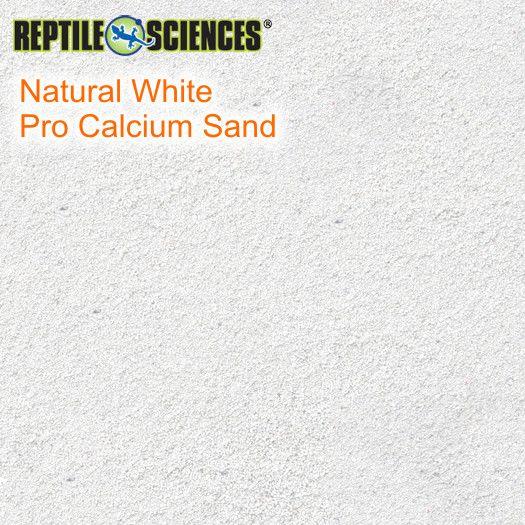 Natural White Pro Calzium Sand 4,54 kg Beutel