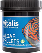 Algae Pellets Ø 1,5 mm - 120g