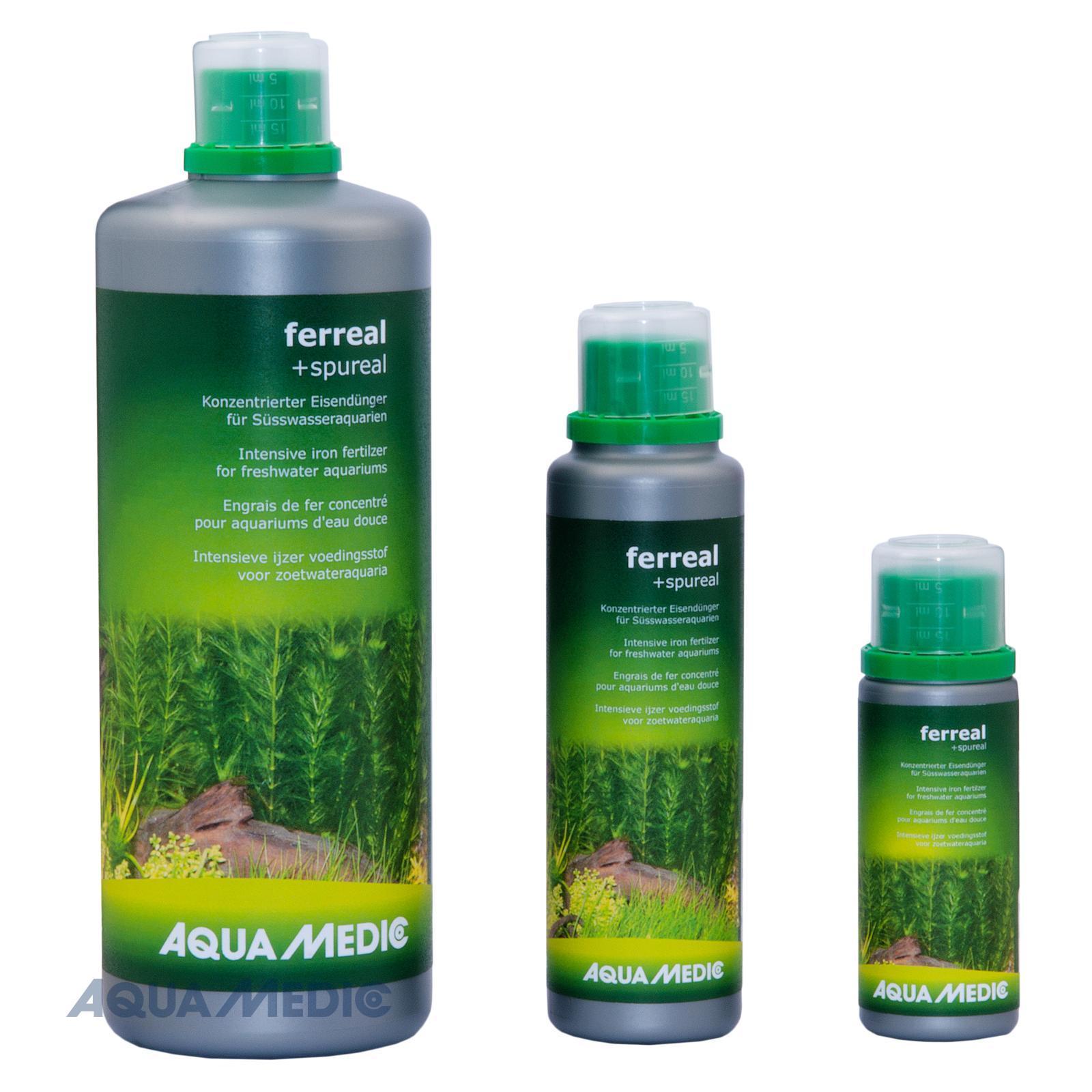 ferreal + spureal 100 ml - Konzentrierter Eisendünger für Süßwasseraquarien