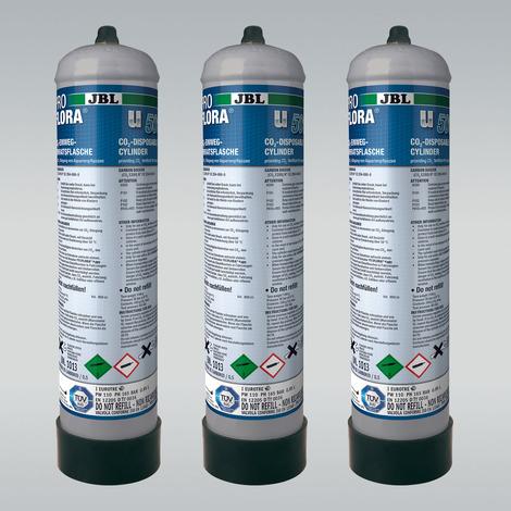 CO2-Einweg-Vorratsflasche (3er Pack) - JBL ProFlora 3 x u500
