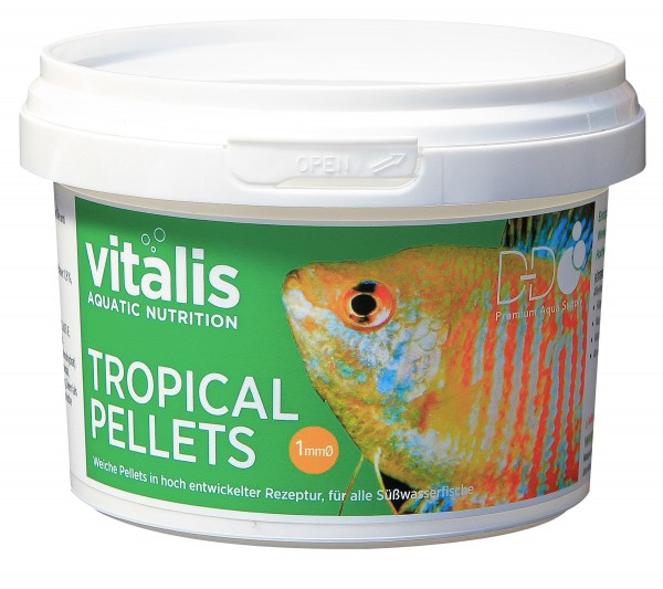 vitalis Tropical Pellets - Ø 1 mm - 70g