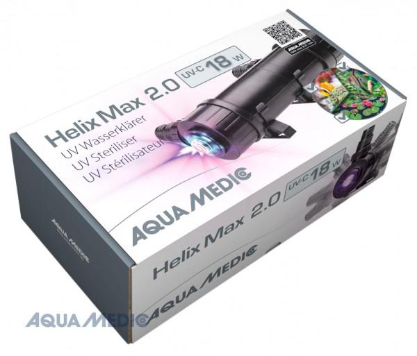 Helix Max 2.0 - 18 W UV-C Wasserklärer für Meer- und Süßwasseraquarien