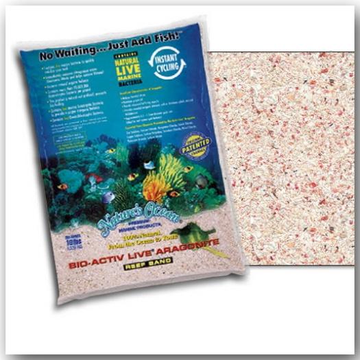 Nature's Ocean® Bio-Activ Live® Samoa Pink Sand 4,54 kg Körnung 0,5 – 1,7 mm