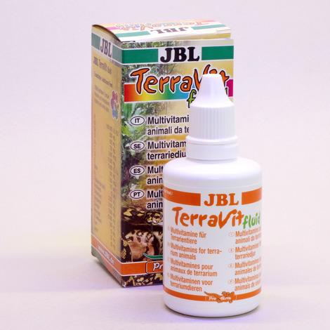 JBL TerraVit fluid 50 ml - Vitamine und Spurenelemente für Terrarientiere