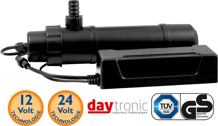 UV-Klärer 9W inkl. Leuchtmittel 12V mit daytronic*