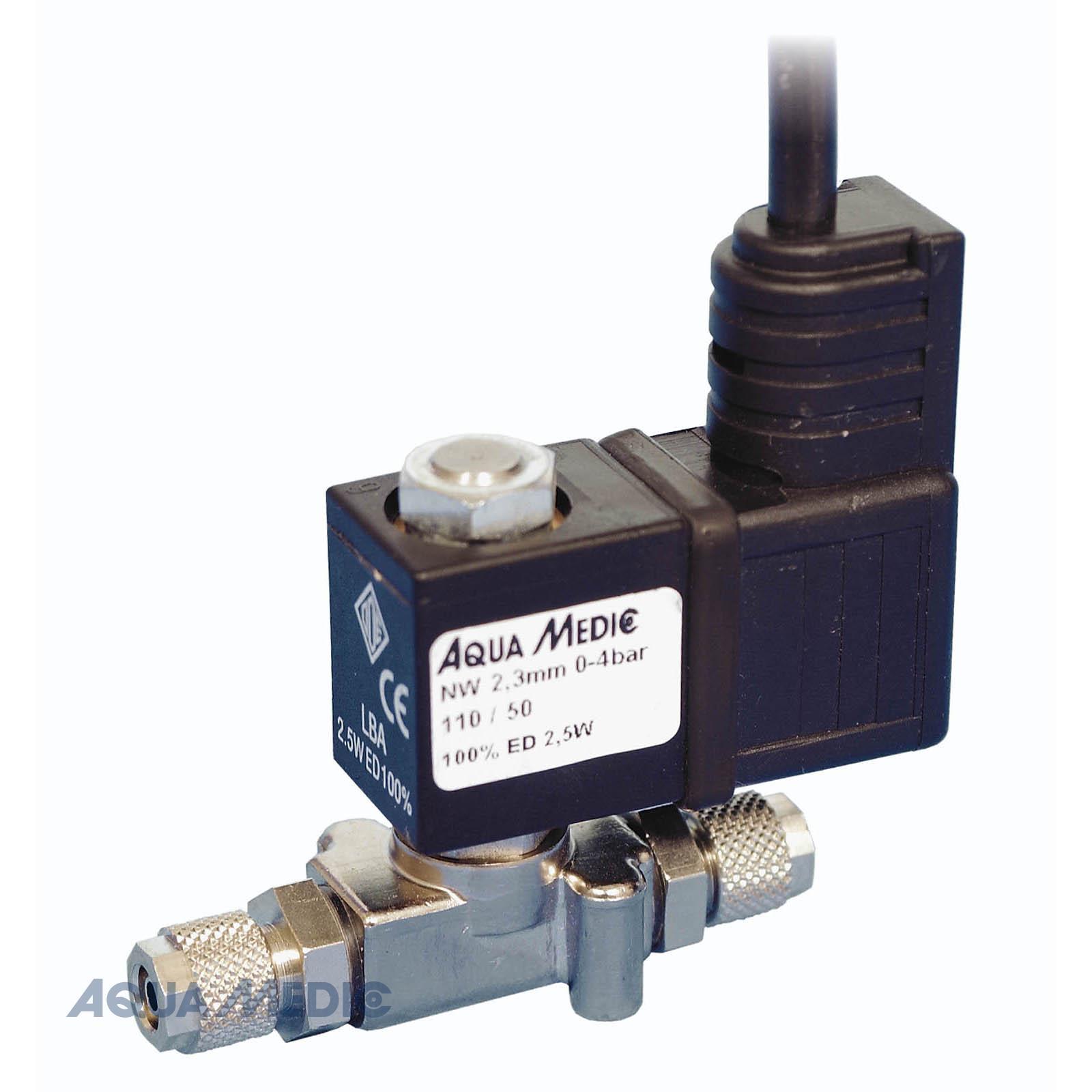 """Elektrisches Absperrventil für CO2-Standard - M-ventil Standard, vernickelt, 1/8"""", 2,5 Watt"""