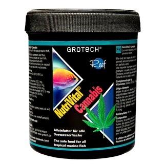 NutriVital Cannabis 1,4-2,2mm 175g - Alleinfutter für alle Seewasserfische