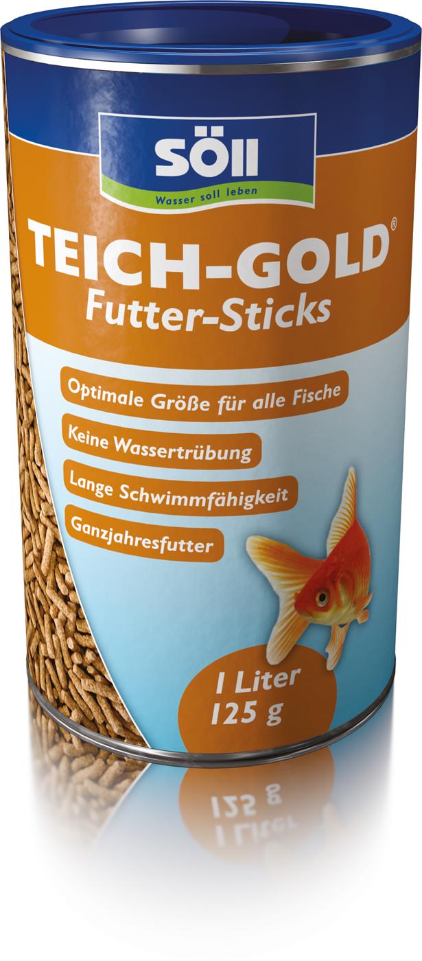 TEICH-GOLD Futter-Sticks 1 Liter