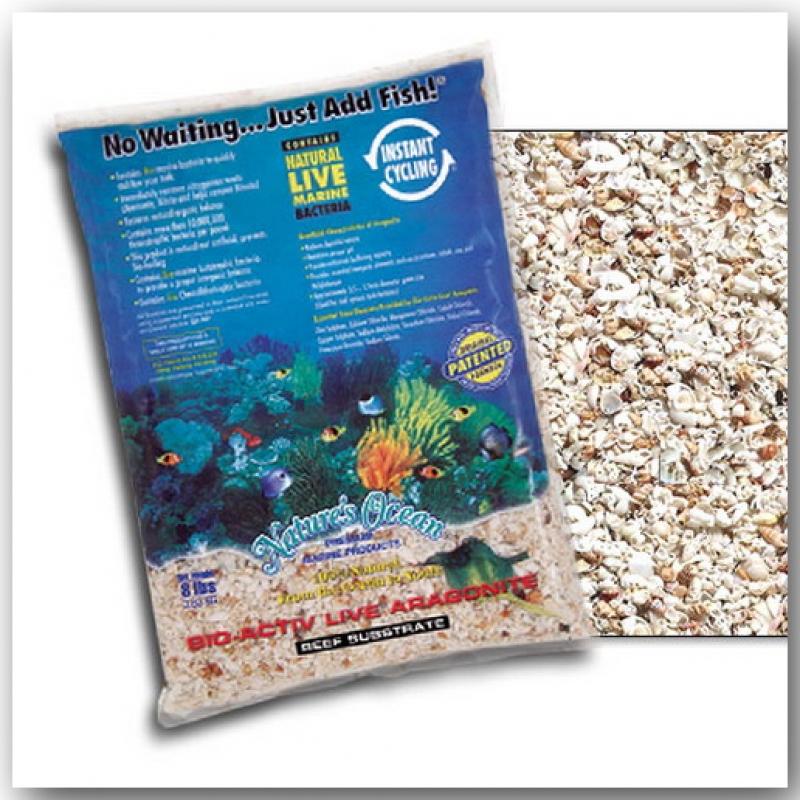 Nature's Ocean® Bio-Activ Live® Reef Substrat 7,26 kg Körnung 2 – 4 mm