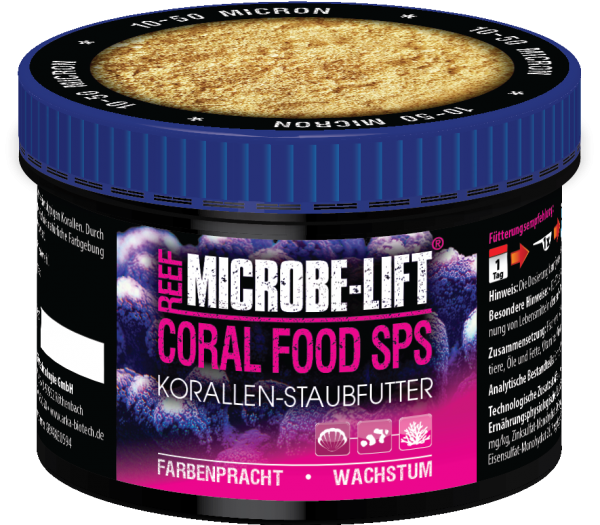 Microbe-Lift Coral Food SPS - SPS Staubfutter 150ml (50g)
