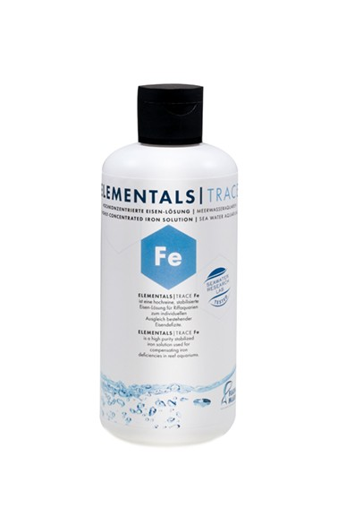 Fauna Marin - ELEMENTALS TRACE Fe 250ml Hochkonzentrierte Eisen-Lösung für Meerwasseraquarien