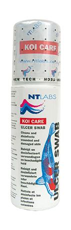 Koi Care Ulcer Swab 125 ml - Reinigt und desinfiziert verletzte Fischhaut