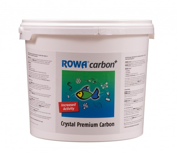 ROWA - ROWAcarbon pelletierte Aktivkohle 2,25 kg Eimer