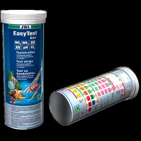 JBL EasyTest 6in1 - Teststreifen zum Schnelltest von Aquarienwasser