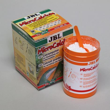 JBL MicroCalcium 100 g - Mineralien-Ergänzungsfutter für alle Reptilien