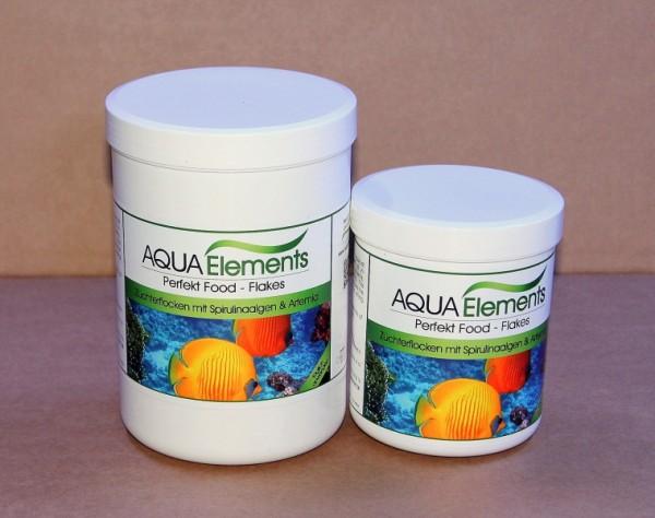 Flockenfutter, 5 Ltr. / 600 g Spirulinaalgen, Artemia Gemich mit Vitamine