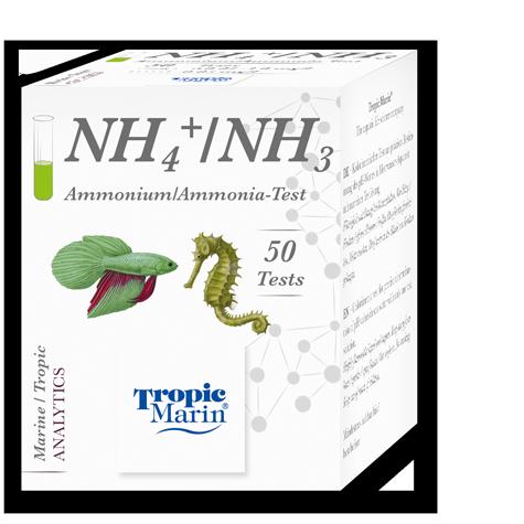 Tropic Marin Ammoniak-/Ammonium-Test Meerwasser/Süßwasser