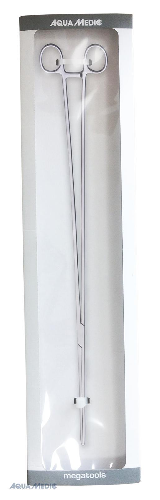 Gerade Edelstahlzange mit Klemme - Länge ca. 60 cm