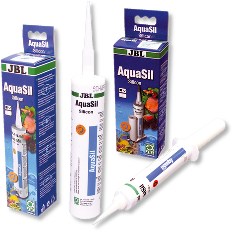 JBL AquaSil 310 ml schwarz - Spezialsilikon für Aquarien und Terrarien