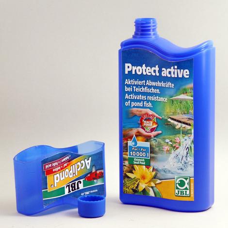 JBL AccliPond 500 ml - Wasseraufbereiter zur Aktivierung der Abwehrkräfte für Teichwasser
