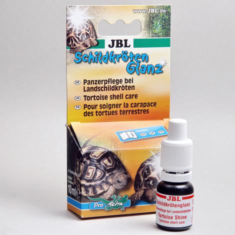 JBL Schildkrötenglanz 10 ml - Panzerpflege für Landschildkröten