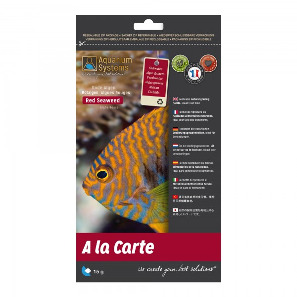 A la Carte - Nori Algen Rot / Red Seaweed 15g