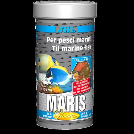 JBL Maris 250 ml - Hauptfutter-Flocken für Meerwasserfische