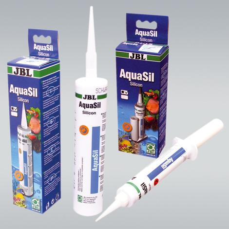 JBL AquaSil 80 ml transparent - Spezialsilikon für Aquarien und Terrarien