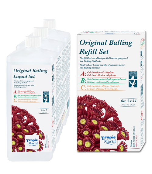 Tropic Marin BIO-CALCIUM Original Balling Liquid Refill 6 x 5.000 ml