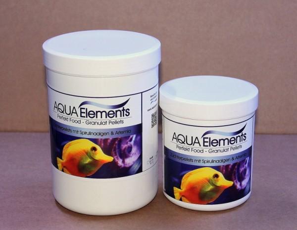 Granulat Futter / Pellets, 500 ml = 250 g Spirulinaalgen, Artemia gemich mit Vitamine