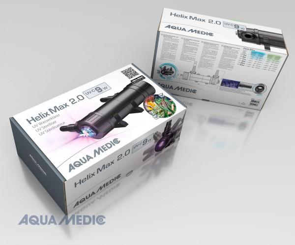 Helix Max 2.0 - 9 W UV-C Wasserklärer für Meer- und Süßwasseraquarien