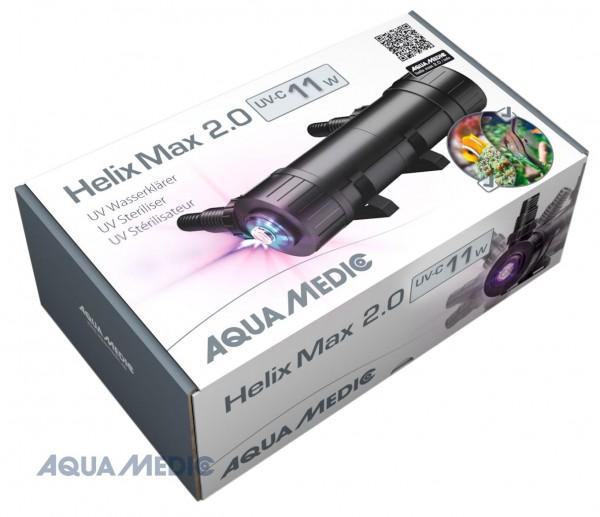 Helix Max 2.0 - 11 W UV-C Wasserklärer für Meer- und Süßwasseraquarien
