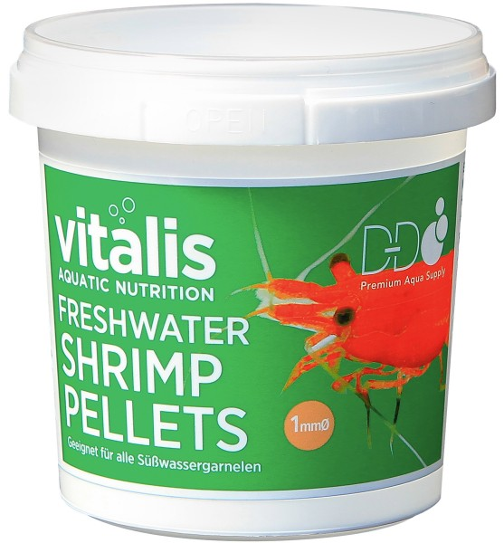 vitalis Freshwater Shrimp Pellets Ø 1 mm - 70g