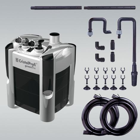 JBL CristalProfi e402 greenline - Außenfilter für Aquarien von 40 - 120 Litern