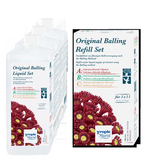 Tropic Marin BIO-CALCIUM Orginal Balling Liquid Set 3 x 1.000 ml