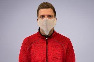 Einweg Behelfs- Mund- und Nasenmaske aus PP-Vlies - 100 Stück
