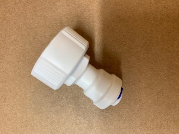 """OS-Perfekt - Wasseranschluss 3/4"""" Innengewinde für 1/4 (6 mm ) Schlauch für Osmosewasser"""