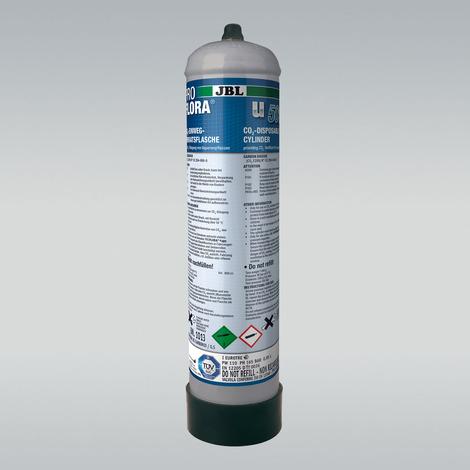 CO2-Einweg-Vorratsflasche mit 500 g - JBL ProFlora u500